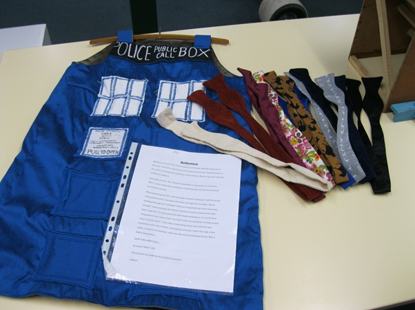 dr who dress